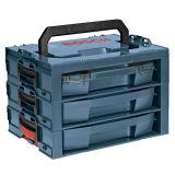 Три уровня высококачественных пластмассовых ЭБУ системы впрыска в пресс-формы ящик для инструментов