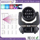 7*15W 소형 이동하는 맨 위 세척 급상승 LED 단계 빛