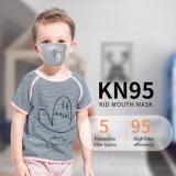 As crianças crianças FFP2 KN95 Válvula de Respiro do respirador Máscara facial máscara de pó Diposable Earloop máscara descartável