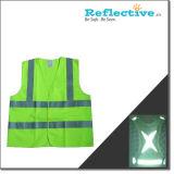 Segurança reflexivo Vest. Desgaste de desportos refletora