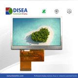 Module d'affichage TFT LCD 4,3 pouces 480X272 broche 24bit RVB 45500cd/m2 Q
