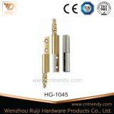 Ferro de latão confinado Ss da dobradiça da porta de hardware (HG-1047)