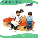 Kindergarten-bewegliches hölzernes Kind-Buch-Regal (HG-4601)