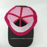 Sombrero de encargo del casquillo del camionero con diseño de la insignia del bordado 3D