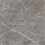 Tegel van de Vloer van het Lichaam van het Bouwmateriaal van Carrara de Witte Volledige Marmeren (VRP8F132, 800X800mm/32 '' x32 '')
