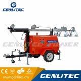 Torretta chiara mobile diesel del generatore della Perkins di potere di Genlitec (GLT4000-9M)