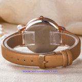 Orologi su ordinazione di modo della vigilanza del quarzo delle donne di marchio per le signore (WY-17008D)