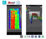Teléfono móvil portable de Admt-400A que asocia el detector mineral