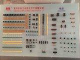 熱い販売の円ワイヤーミリオームの電気分路抵抗器