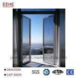 مدخل خارجيّة ألومنيوم باب مع تصميم اختياريّة زجاجيّة