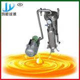 黄色い使用された黒い重油の浄化機械への良い業績の変更の黒