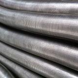 Tubulação flexível do aço inoxidável do bloqueio