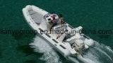 Barche gonfiabili della nervatura di fabbricazione delle barche della nervatura di Liya 22FT da vendere