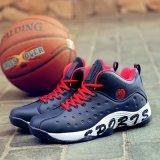 De Zwarte Schoenen van het Basketbal van Alibaba slijtage-zichVerzet tegen voor de Basketbalschoenen van Mensen