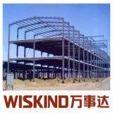 China Certificada ISO Varios Span Estructura de acero para almacén