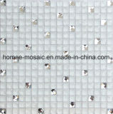 Knistern-Glasmischungs-Diamant für Küche Backsplash Mosaik-Wand-Fliese