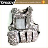 Het militaire Tactische Vest van Airsoft van het Gevecht van de Aanval voor de Spelen van Sporten
