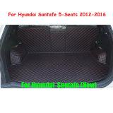 Voar5d Carro Tapete de troncos tapetes Carga Camisa Carro automático para a Hyundai Santafe 2012-2016 de 5 lugares
