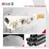 Коническая твиновская линия штрангпресс винта трубы PVC профиля PVC