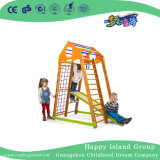 Petit filet d'escalade de la formation des jeux pour enfants avec toboggan