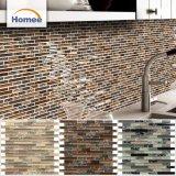 Azulejo de mosaico de piedra de cristal de Backsplash de la venta al por mayor europea popular del estilo