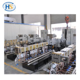 Tweeling Extruder 65mm met het Systeem 200-300kg/H van de Ring van het Water