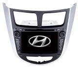 Automobile GPS con il iPod DVB-T di Bluetoothdvd per Hyundai Verna