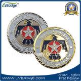 カスタマイズされる米国国防総省が付いている黄銅によって押される金属の硬貨