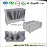 Los materiales de construcción de maquinaria de la extrusión de aluminio de disipador de calor