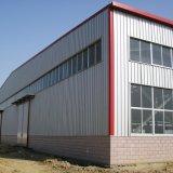 Construções prefabricadas/Prefab Depósito de aço do painel do tipo sanduíche