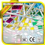 4-19m m planos/curvaron el vidrio Tempered teñido con el CE/ISO9001/CCC