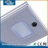 IP65 12W da liga de alumínio LED Rua solar integrada luz exterior
