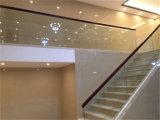 De moderne Ontwerp Aangemaakte Trap van het Glas