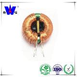 Inductor toroidal de la potencia de la bobina de estrangulación de la base de la ferrita de la buena calidad