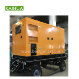 200kVA Cumminsのトレーラーの販売のための無声ディーゼル発電機