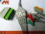Nihon Kohden Bsm-2301K un trozo de cable de ECG