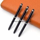 Stylo à bille de métal Pure-Color classique stylo tactile Logo personnalisé pour la promotion (LT-L434)