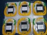 Divisor encajonado del PLC del divisor 1X32 de la fibra del PLC del divisor del ABS óptico de la fibra con el conector de LC/APC