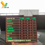 preço de fábrica display LED digital board