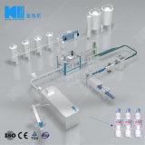 Kleine Wasser-Flaschen-füllende Zeile beenden