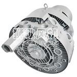 Farbband-Verbrauch-industrielles heißes elektrisches Luft-Ring-Gebläse montieren