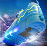 Chaussures simples automatiques de patin de rouleau de roue de qualité