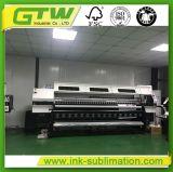 Impressora por sublimação de tinta de grande formato 3,2 milhões com 2 PCS de Dx5 Cabeçote de impressão