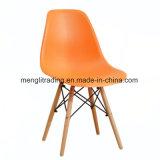 아이 크기 EMS 옆 의자 녹색 시트 자연적인 목제 다리 어린이 방은 팔에 의하여 주조된 플라스틱 시트 장부촉 다리를 착석시키지 않는다