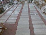 Marbre blanc de bois de construction de marbre en bois chinois de veine