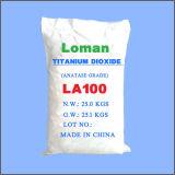 Merk van Loman van de Vervaardiging van de Levering van het Poeder van het Dioxyde van het titanium het Witte, La100