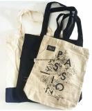 Sacchetto di acquisto stampato marchio su ordinazione del Tote della tela di canapa del cotone dei prodotti della fabbrica della Cina