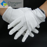 Gants fonctionnants industriels de gants sans charpies de Microfiber de Cleanroom