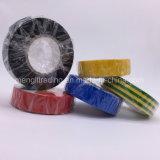 철사와 케이블을%s 빛나고는 방화 효력이 있는 PVC 전기 테이프 파랑