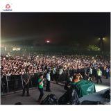 Концерт для тяжелого режима работы барьером для этапа и концерт безопасности